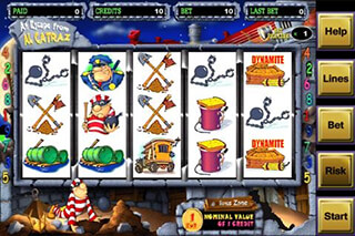 Alcatraz Casino Slot Game FREE скриншот 1