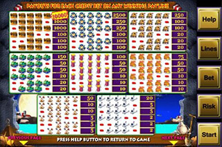 Alcatraz Casino Slot Game FREE скриншот 4
