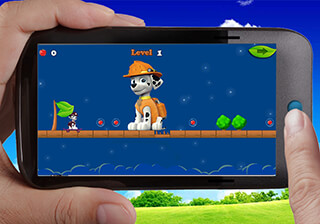 Paw Puppy Skater Patrol скриншот 2