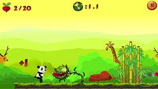 Jungle Panda Run скриншот 1