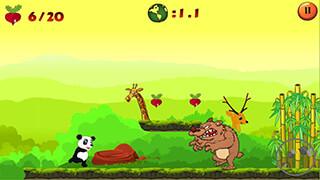 Jungle Panda Run скриншот 2
