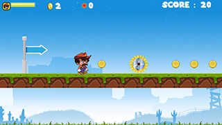 Super Adventure Run World скриншот 2