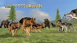 Wild Dog: Survival Simulator скриншот 1