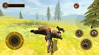 Wild Dog: Survival Simulator скриншот 3