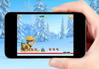 Paw Puppy Snow Patrol Skater скриншот 4