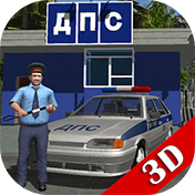 Traffic Cop Simulator 3D иконка