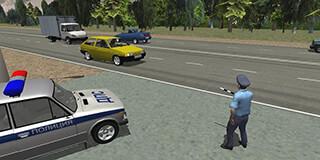 Traffic Cop Simulator 3D скриншот 1
