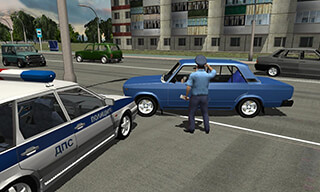 Traffic Cop Simulator 3D скриншот 4