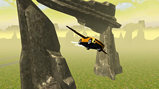Flying Muscle Car Simulator 3D скриншот 1
