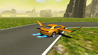 Flying Muscle Car Simulator 3D скриншот 3