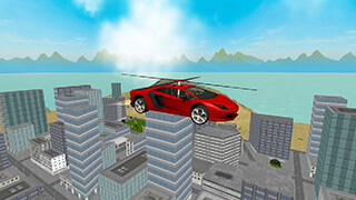 San Andreas Helicopter Car 3D скриншот 1