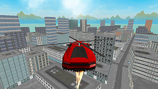 San Andreas Helicopter Car 3D скриншот 2