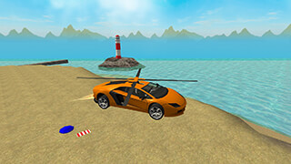 San Andreas Helicopter Car 3D скриншот 3