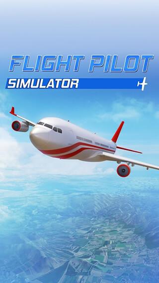 Flight Pilot Simulator 3D Free скриншот 1