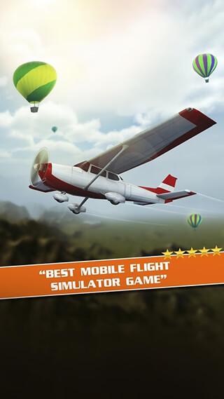 Flight Pilot Simulator 3D Free скриншот 2