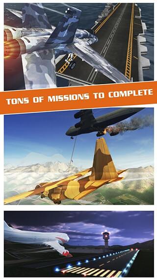 Flight Pilot Simulator 3D Free скриншот 3