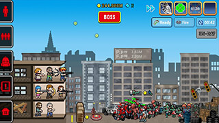 100 Days: Zombie Survival скриншот 1