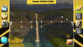 Bridge Constructor FREE скриншот 2