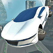 Futuristic Flying Car Driving иконка