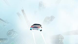 Futuristic Flying Car Driving скриншот 3
