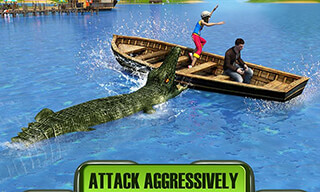 Crocodile Attack 2016 скриншот 3