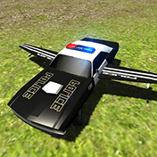 Flying Car Free: Police Chase иконка