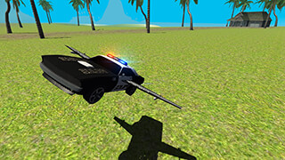 Flying Car Free: Police Chase скриншот 1