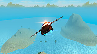 Flying Car Free: Police Chase скриншот 3
