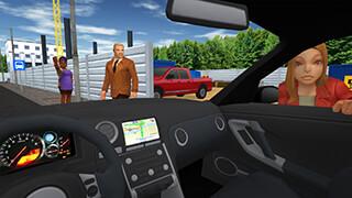 Taxi Game скриншот 1