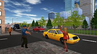 Taxi Game скриншот 2