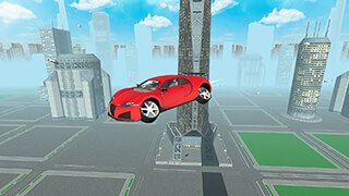Flying Future Super Sport Car скриншот 1