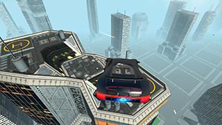 Flying Future Super Sport Car скриншот 3
