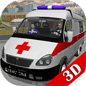Ambulance Simulator 3D иконка