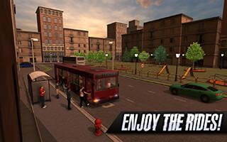 Bus Simulator 2015 скриншот 3
