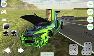 Extreme Car Simulator 2016 скриншот 2