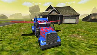 Flying Car: Transformer Truck скриншот 1