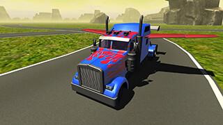 Flying Car: Transformer Truck скриншот 3