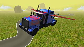 Flying Car: Transformer Truck скриншот 4