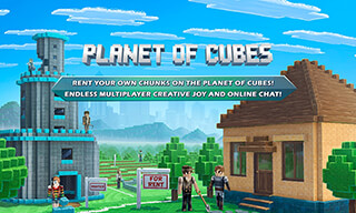 Planet of Cubes Multicraft скриншот 1