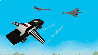 Flying Police Car: San Andreas скриншот 1