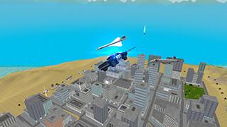 Flying Police Car: San Andreas скриншот 2