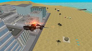 Flying Police Car: San Andreas скриншот 3
