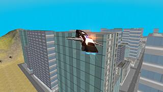 Flying Police Car: San Andreas скриншот 4