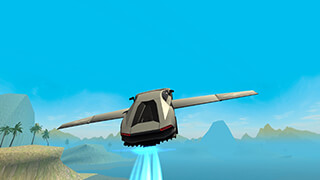 Flying Car Free: Extreme Pilot скриншот 3