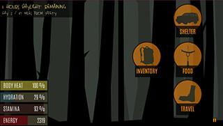 Survive: Wilderness Survival скриншот 1