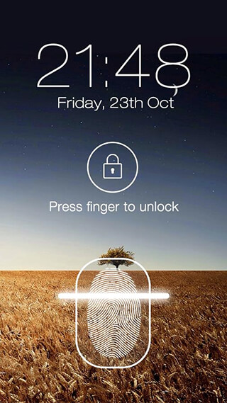 Fingerprint LockScreen Prank скриншот 2