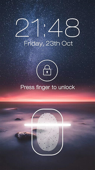 Fingerprint LockScreen Prank скриншот 3