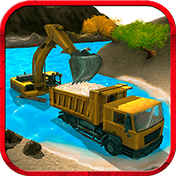 River Sand Excavator Simulator иконка