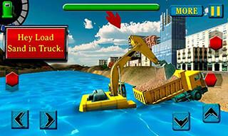 River Sand Excavator Simulator скриншот 4