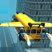 Flying Bus Simulator 2016 иконка